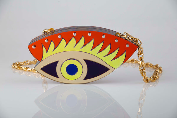 Lux Eye clutch.