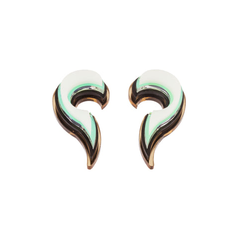 Unique Shell earrings #1