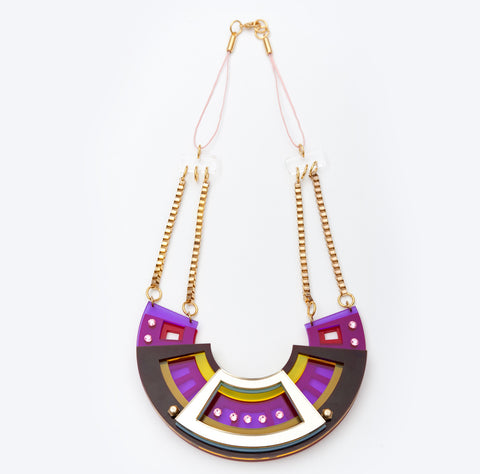 Morocco Necklace Grand Retro
