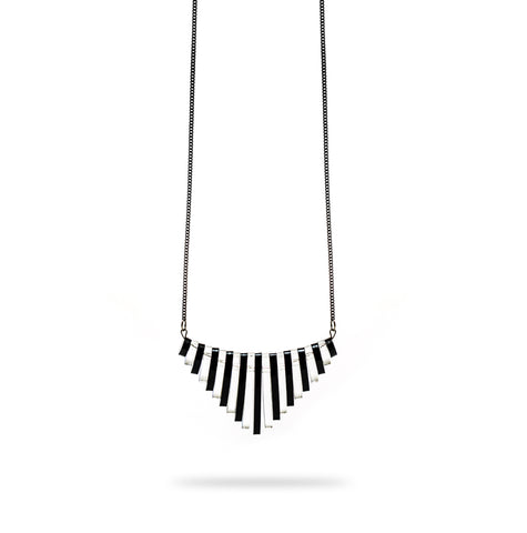 Aphrodite Zebra Necklace.