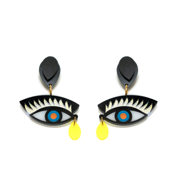Eye On You Earrings unique.