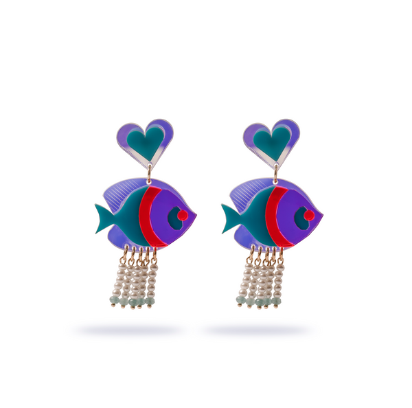 Nemo earrings #3