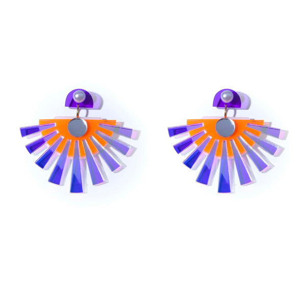 Sunset earrings small