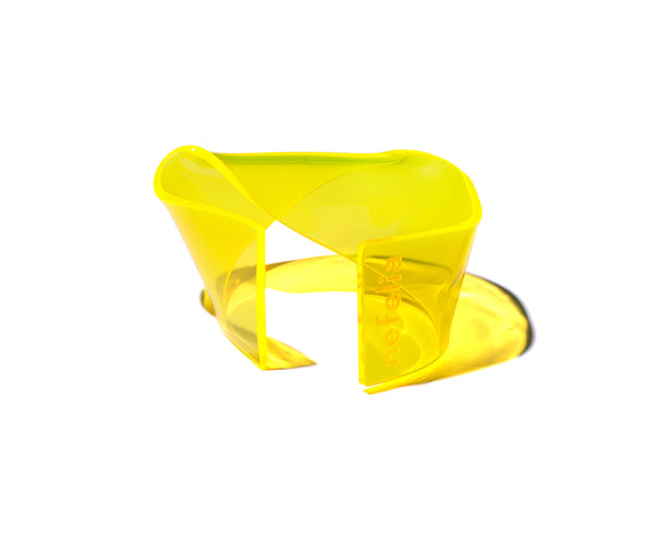 TWIST bracelet FLUO YELLOW