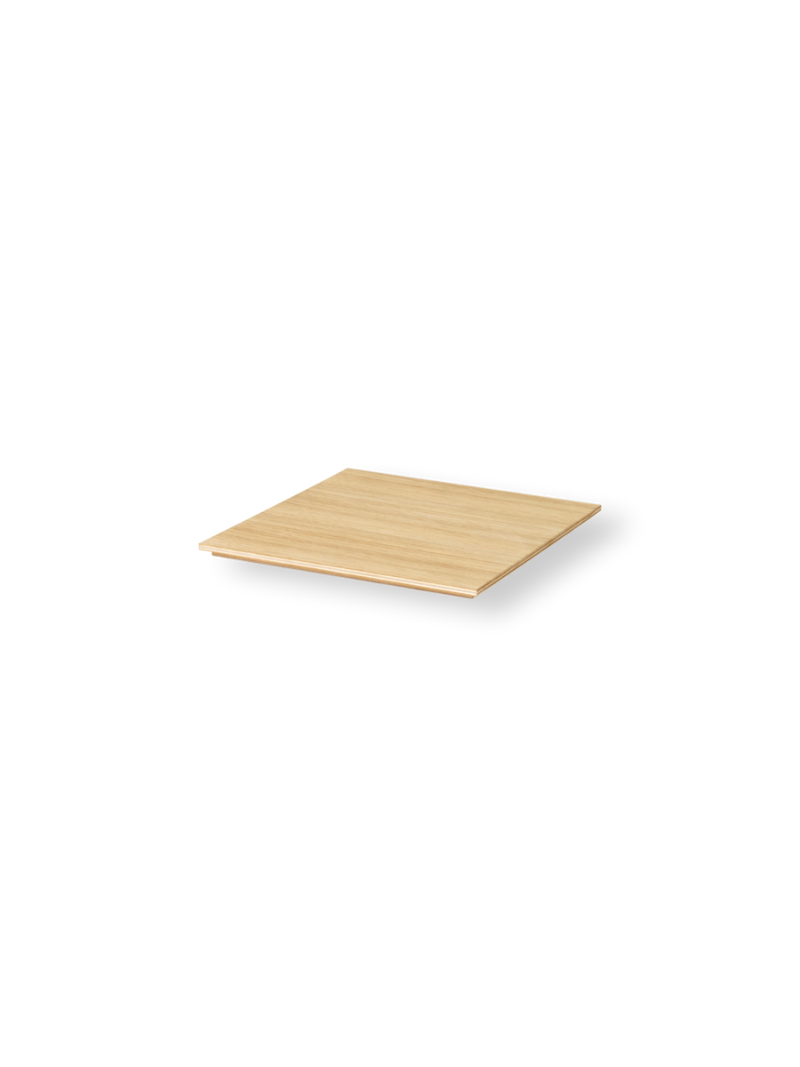 ferm living tray for plant box wood oiled oak