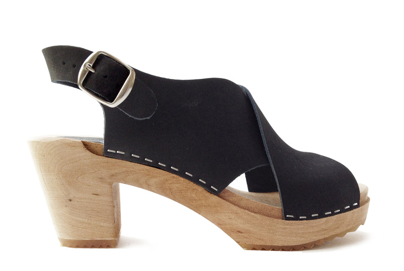 950 clog high eva black