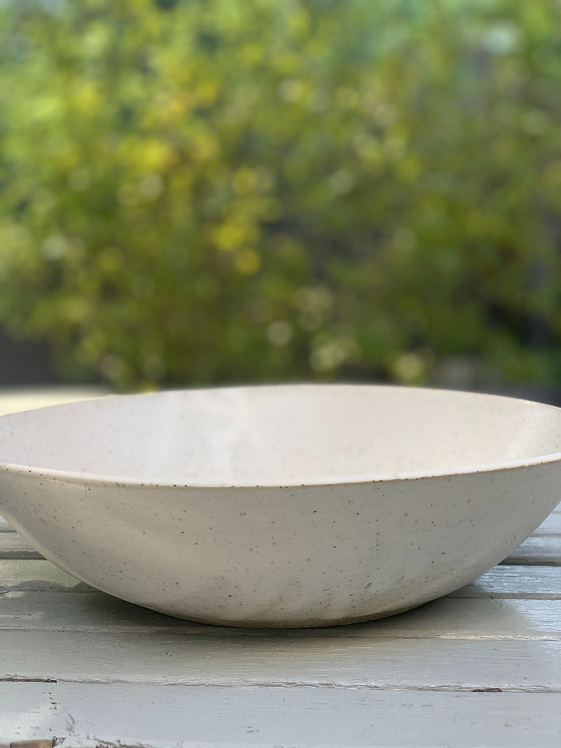 pia greenaway speckled deep serving bowl