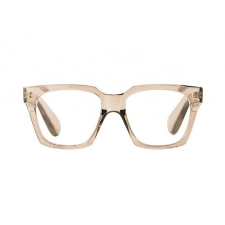 reading glasses lorene transparent nude
