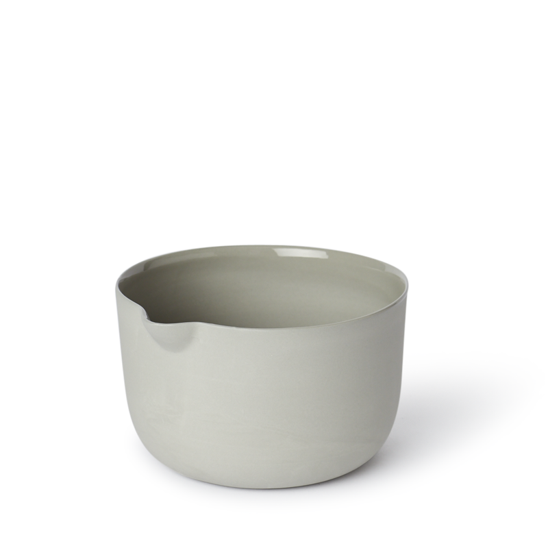 mud mixing bowl small ash
