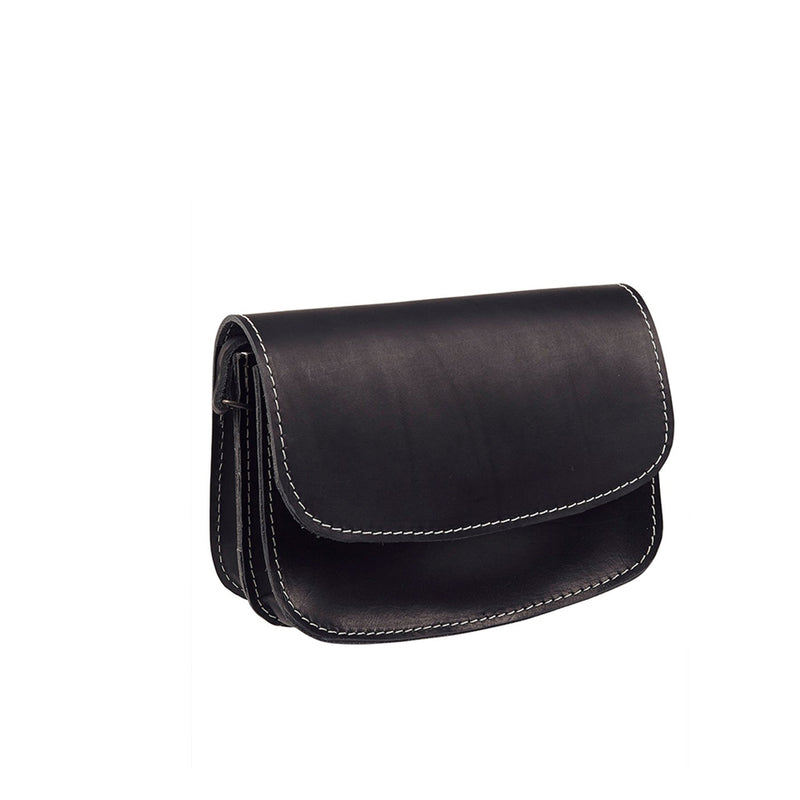 funkis leather bag nils black