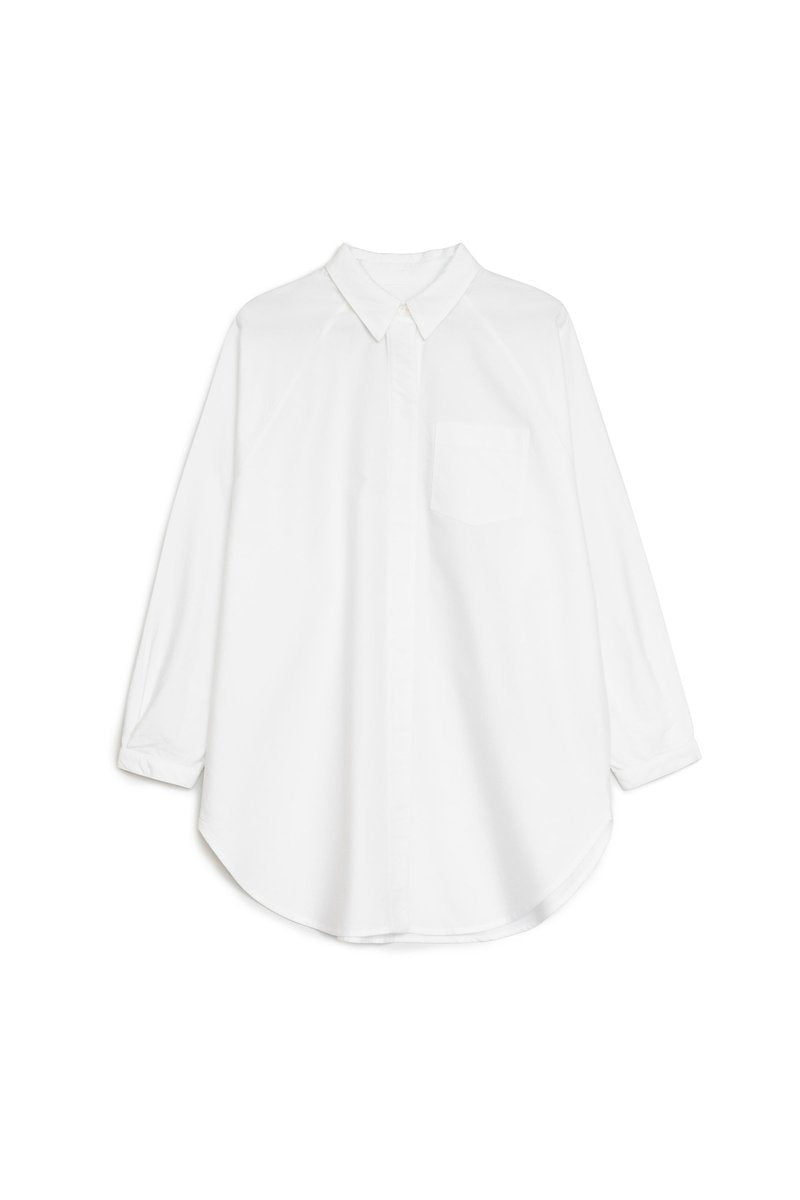 kowtow oversized shirt white