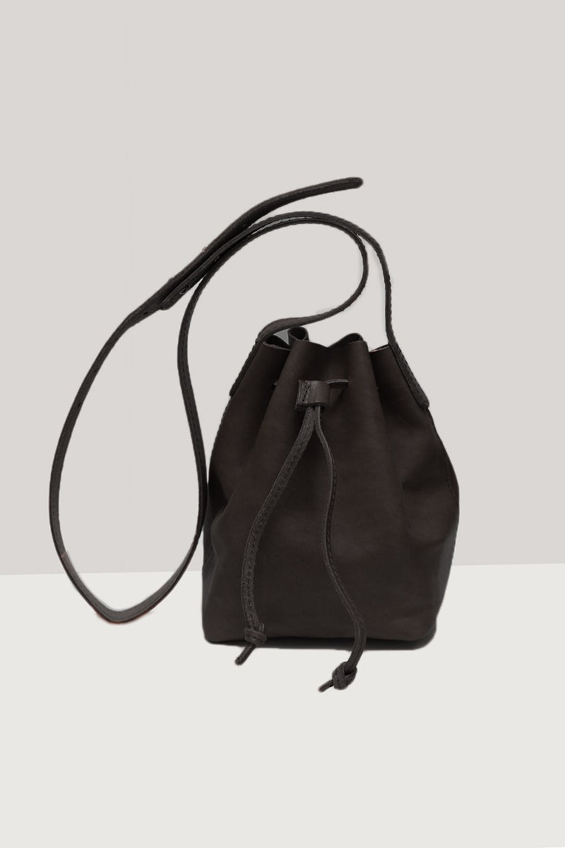 funkis leather bag sara black small