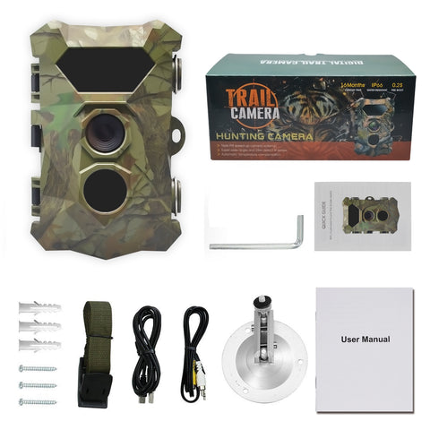Camouflage Green Sight Hunting Camera