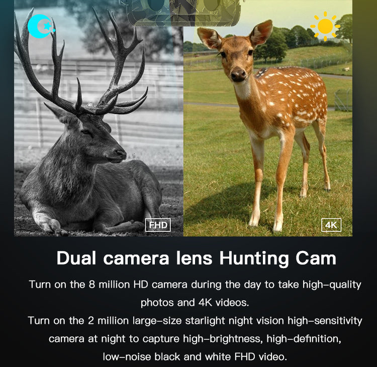 bonmixc© trail camera hunting camera wildlife camera