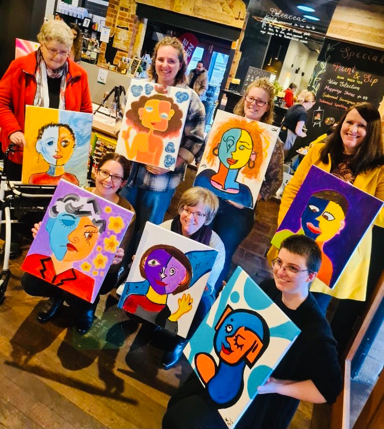 paint and Sip Adelaide hills, Mount Barker, Paint and Wine