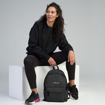 Michaeljazz Embroidered Backpack