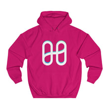 Load image into Gallery viewer, 3-D Harmony Oversized Logo Unisex College Hoodie  ~UK Sourced~