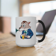 Load image into Gallery viewer, BIG ONE & CryptosWolf Color Changing Mug ~2 sizes Available, big & BIGGER~