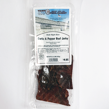 Garlic & Peppered Beef Jerky *Gluten Free