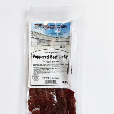 Peppered Beef Jerky *Gluten Free