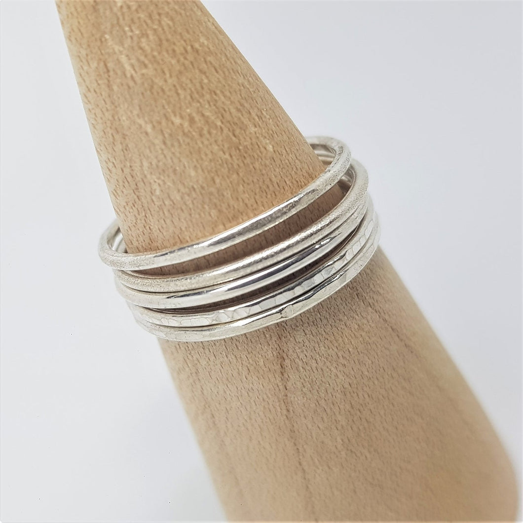 Stacking Rings - (Set of 5)