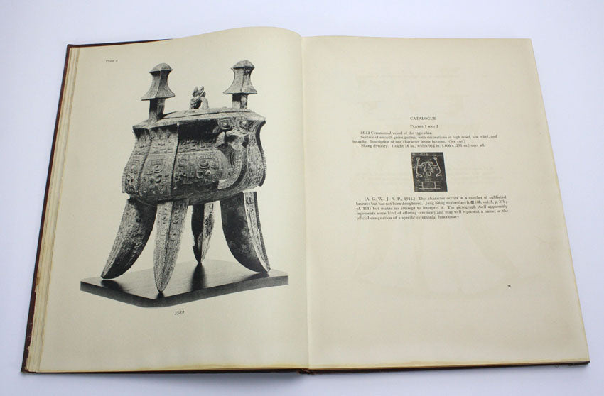 A Descriptive and Illustrative Catalogue of Chinese Bronzes, 1st edition, 1946