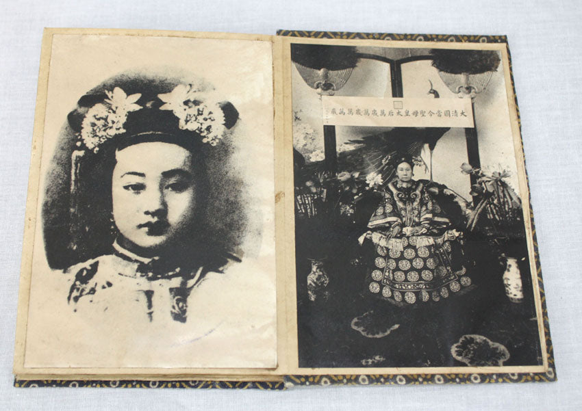 Book of Vintage Chinese Photographs, Photographs of the Past Royal Family