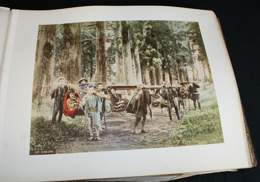 19th Century Japanese photo album