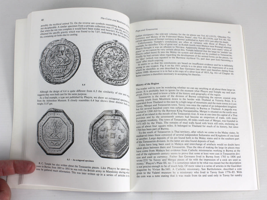 Coins and Banknotes of Burma, Robinson & Shaw