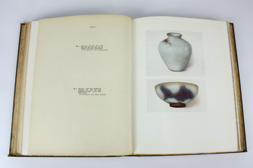 The Early Ceramic Wares of China by A. L. Hetherington, 1st edition, Benn Brothers 1922.
