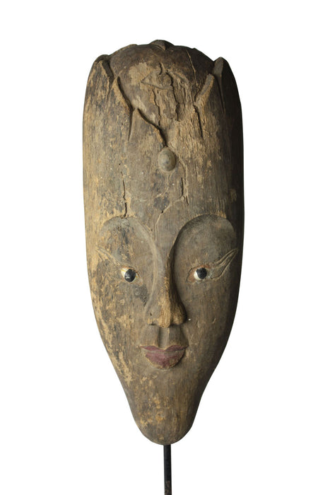 karen_hill_tribe_antique_wooden_statue_ind242