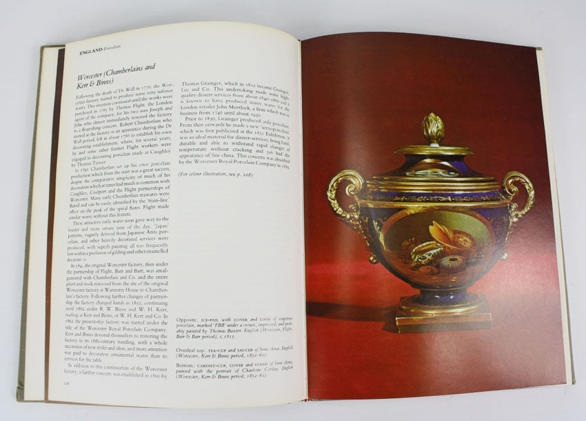 Pottery and Porcelain Tablewares, John P Cushion, 1976 1st edition.