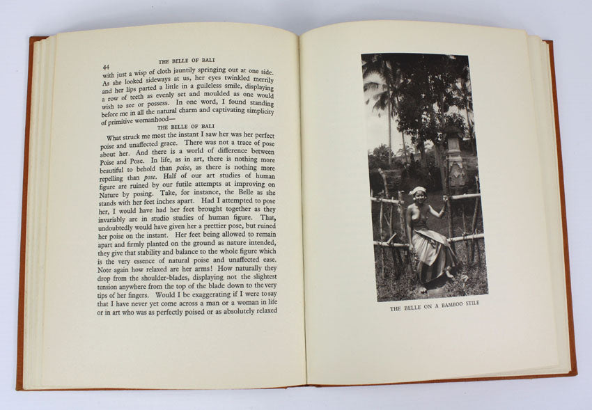 The Belle of Bali, A S Wadia, 1st edition 1936