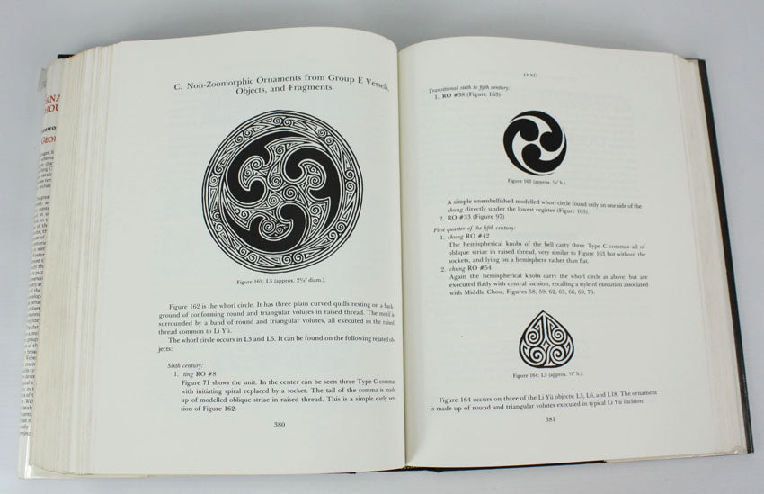 The Ornaments of Late Chou Bronzes, a Method of Analysis by George W. Weber, Jr.