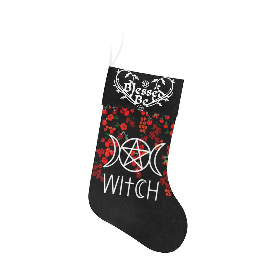 Witch Christmas Stocking Christmas Stocking e-joyer