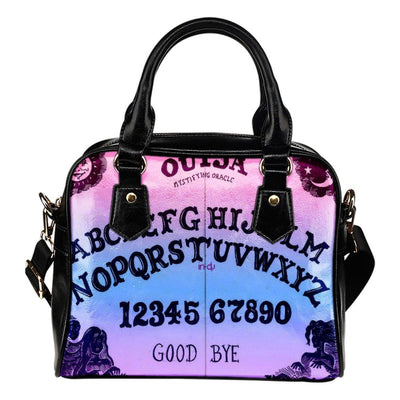 Ouija Witch Shoulder Handbag Handbag MoonChildWorld Pastel