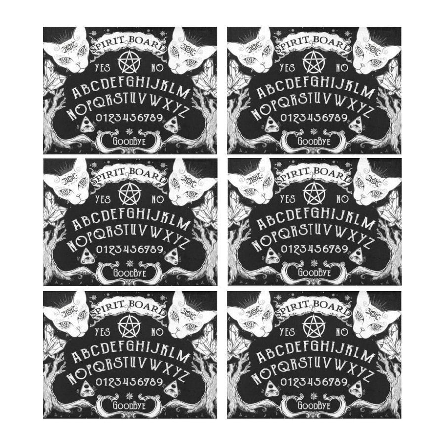 Ouija board witch Placemat (6 Pieces) Placemat 14'' x 19'' (Six Pieces) e-joyer