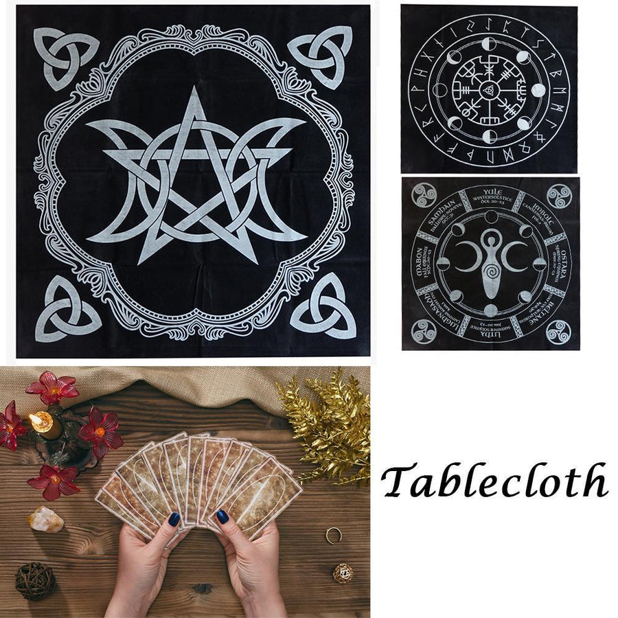 Wicca Tarot Tablecloth