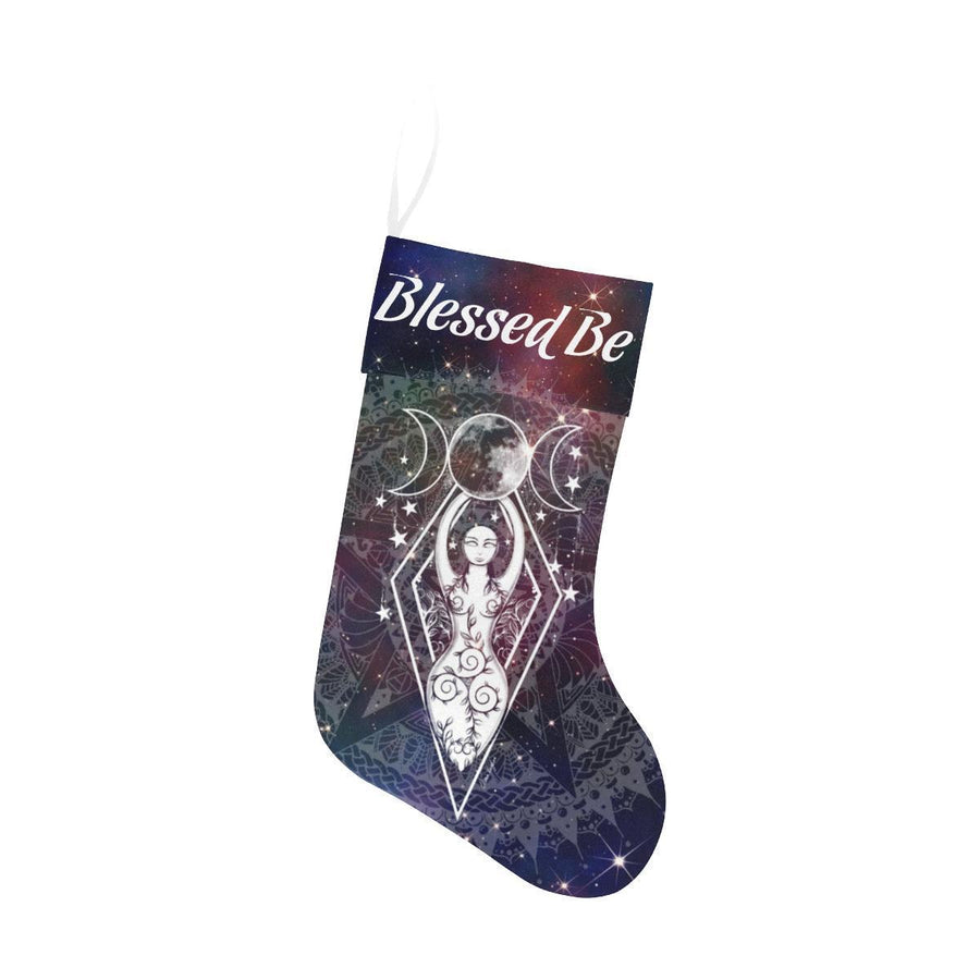 Triple goddess Christmas Stocking Christmas Stocking e-joyer