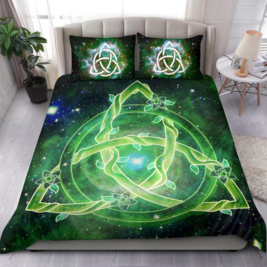Triquetra wicca Bedding Set Bedding Set MoonChildWorld