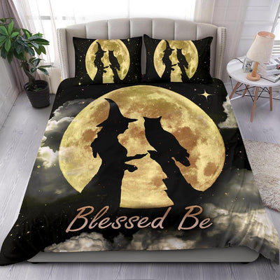 Witch owl blessed be wicca Bedding Set Bedding Set MoonChildWorld