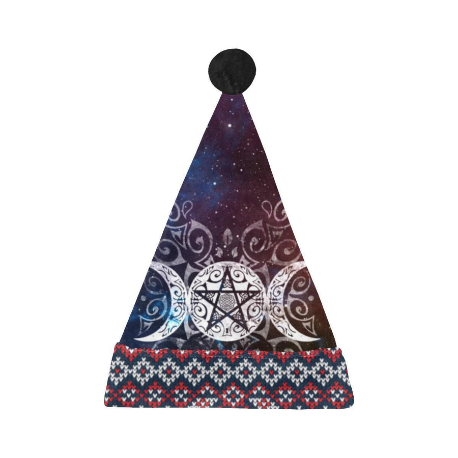 Triple moon wicca Santa Hat Santa Hat e-joyer