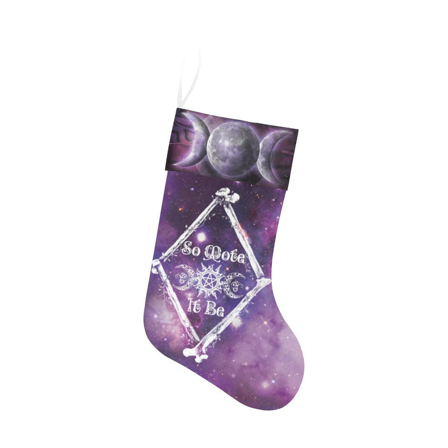 So mote it be Christmas Stocking Christmas Stocking e-joyer