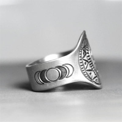 Wicca Stay Wild Moon Child Ring Ring MoonChildWorld