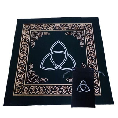 Wicca Tarot Pagan Altar Cloth Tablecloth with Bag Tablecloth MoonChildWorld D