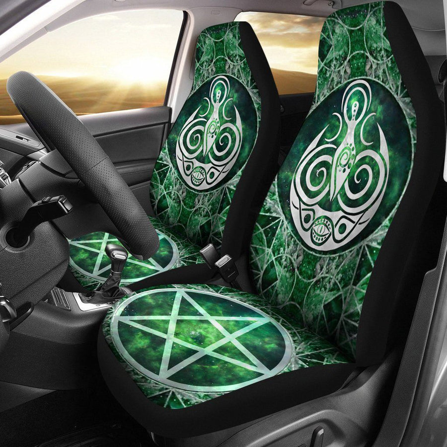Goddess moon Car Seat Covers Car Seat Covers MoonChildWorld