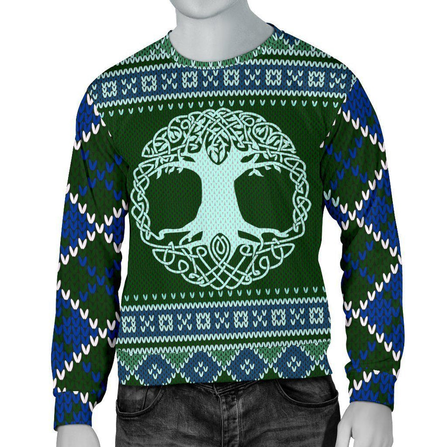 Celtic tree of life Pagan Yule Sweater Sweater MoonChildWorld