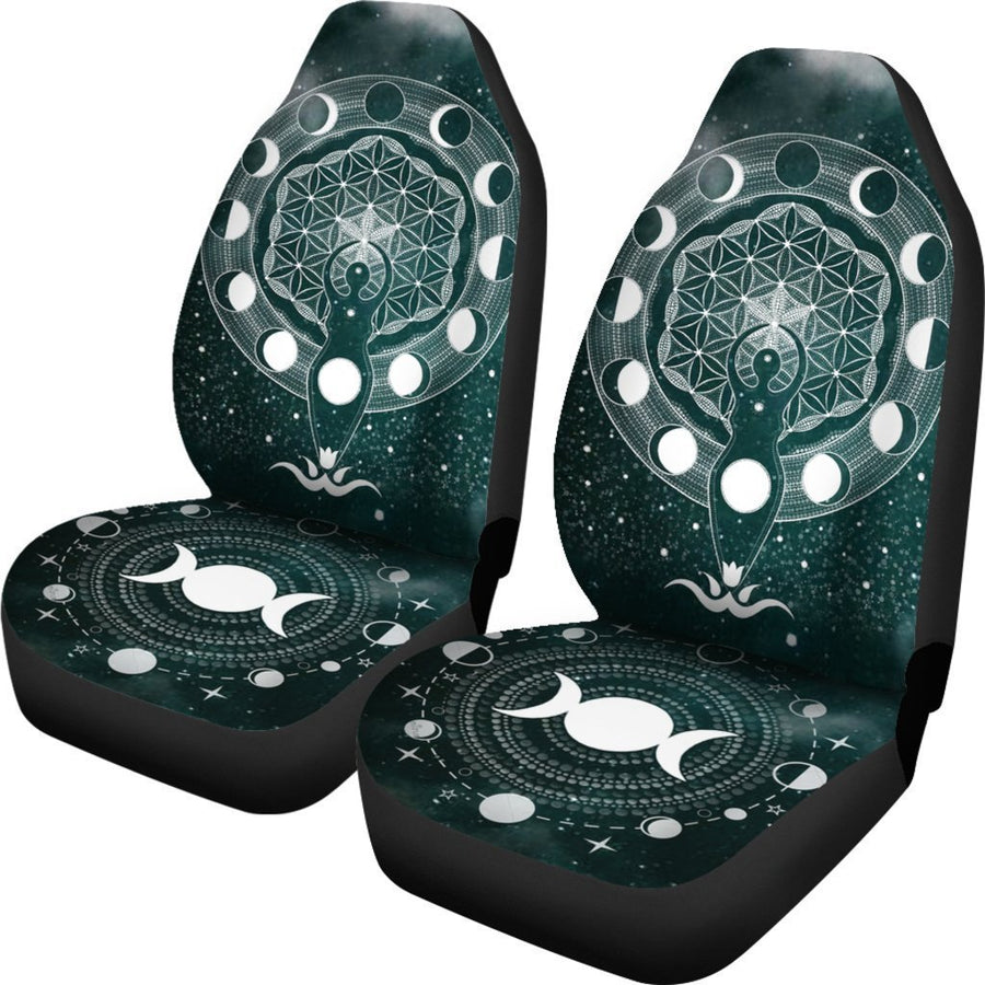 Wicca Car Seat Covers Car Seat Covers MoonChildWorld
