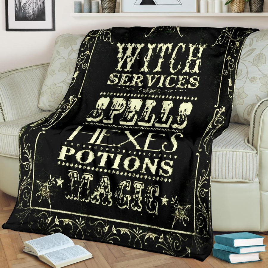 Witch Premium Blanket