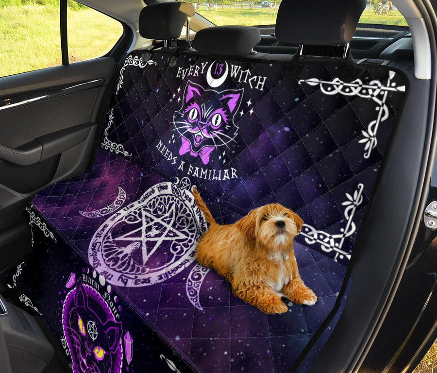 Wicca Pet Seat Cover Pet Seat Cover MoonChildWorld
